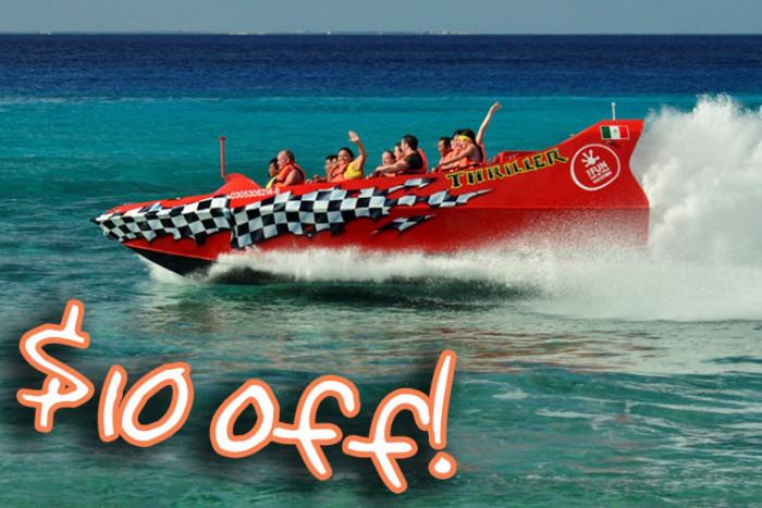 Jet Boat Ride and Beach Break - $59.99