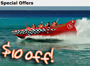 Jet Boat Ride and Beach Break - $69.99