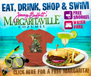 Margaritaville in Cozumel