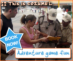Cozumel Amazing Race tour