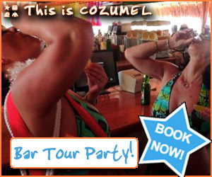 Cozumel Bar tour