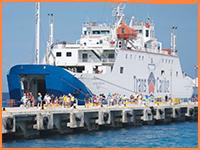 Cozumel car ferry