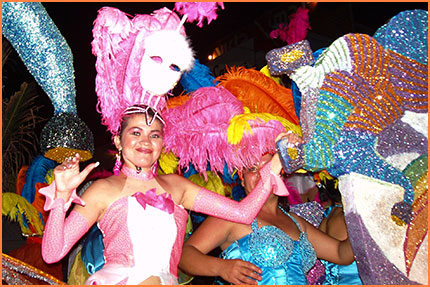 Cozumel Carnival parades