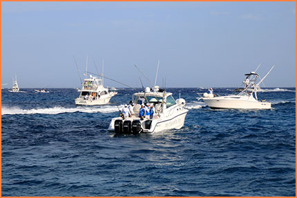 Cozumel fishing boats