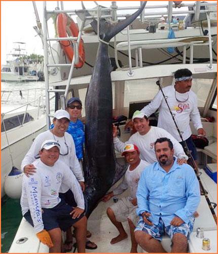 Cozumel fishing charter boat