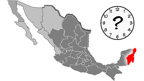 Cozumel time zone