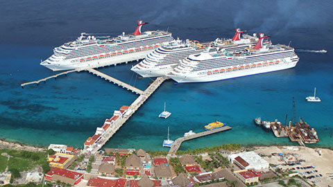 Cozumel cruise ship time
