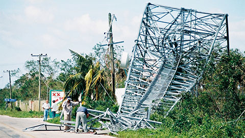 Cozumel Wilma damage