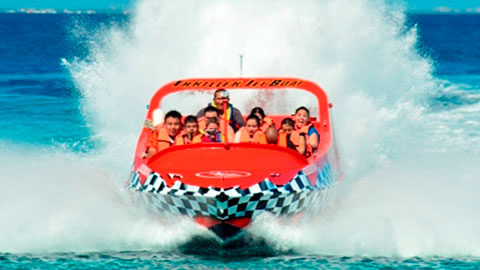Cozumel jet boat competition