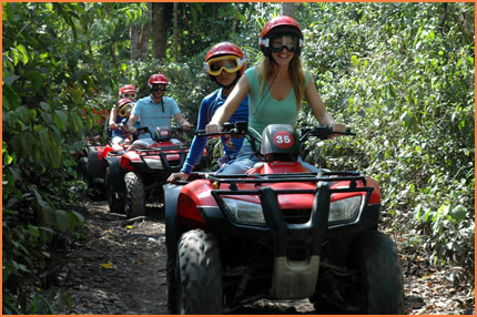 Cozumel jungle tour