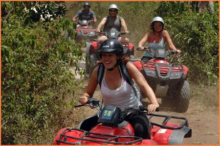Quadbikes in Cozumel