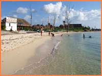 Alberto's Beach in Cozumel.