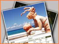 Cozumel 2010 calendar