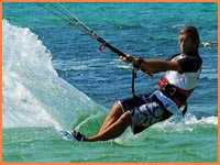 Cozumel kiteboarding