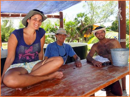 Caribbean pearl farm