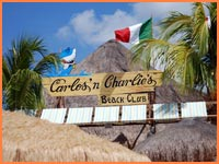 Carlos 'n Charlies Beach Club in Cozumel