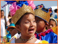 Carnival in Cozumel - kids