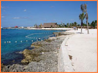 Chankaab beach in Cozumel.