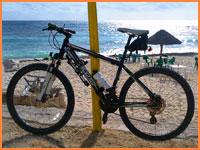 Cozumel bikes.