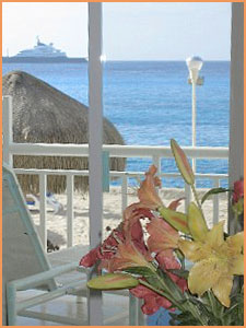 Cozumel beach front condo