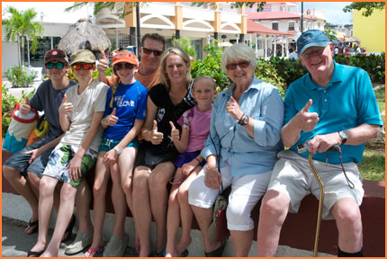 Cozumel family vacation