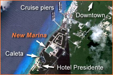 New Cozumel marina