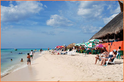 Cozumel beach tour