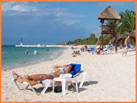 Cozumel beach package