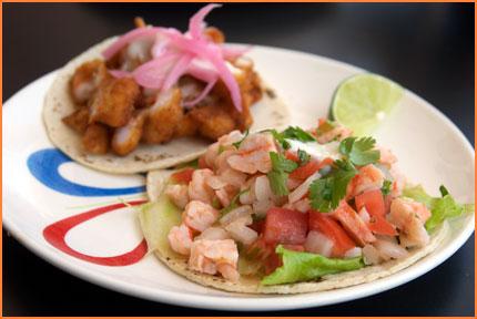 Cozumel ceviche tacos