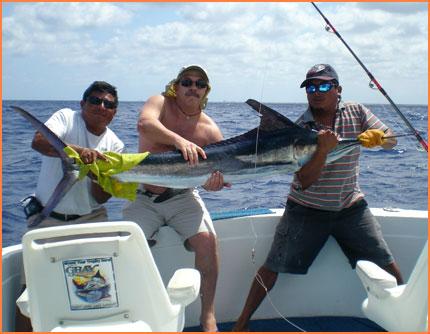 Cozumel fishing boat