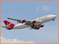 Virgin Atlantic flight
