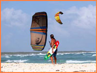 Cozumel kiteboarding