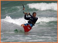 Kiteboarding in Cozumel