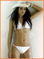 Miss Spain in Cozumel