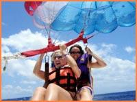 Cozumel parasailing