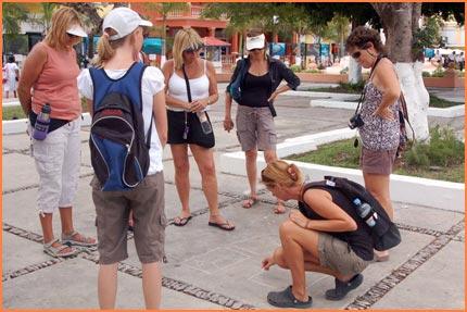 Cozumel walking tour