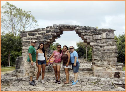 Cozumel bus tour.