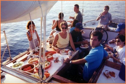 Cozumel sailboat tour