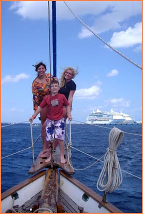 Cozumel sail and snorkel