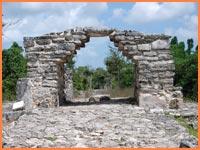 Maya ruins in Cozumel