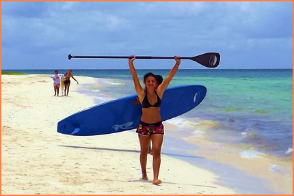 Learn to SUP in Cozumel