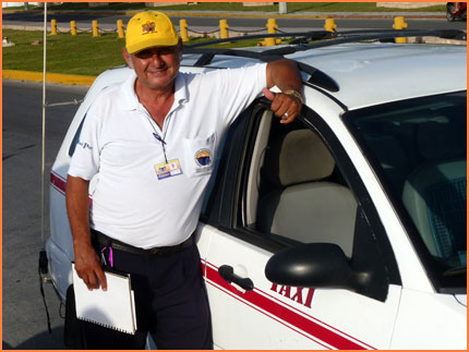 Taxi tours in Cozumel