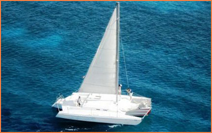 Trimaran tour