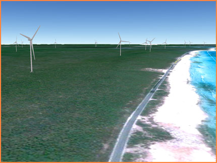 Cozumel wind farm picture