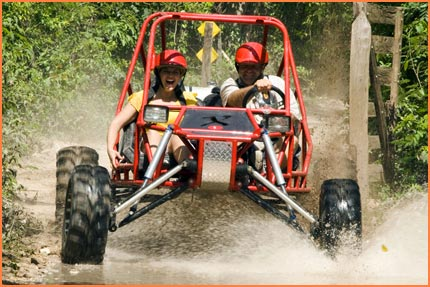 Cozumel all terrain tour
