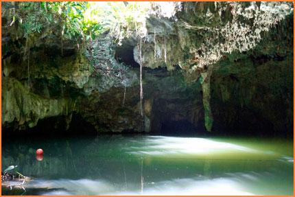 Cozumel cavern