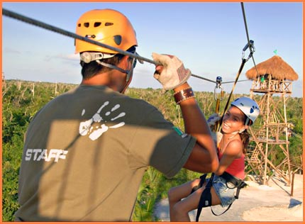 Cozumel fly high adventure