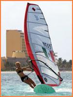 Cozumel windsurfing