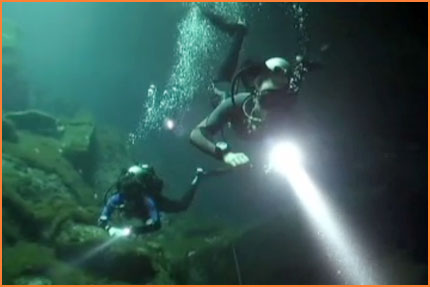 Cenote diving in Cozumel