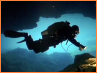 Cave and cenote diving